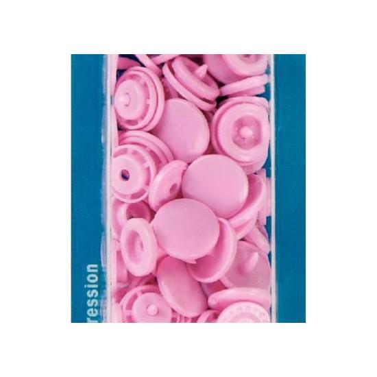botón de presión redondo 12,4 mm. azul claro Prym